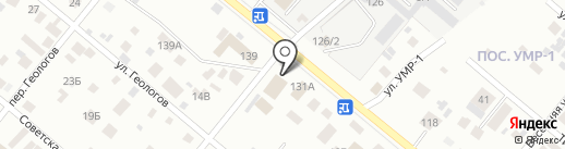 GARAGE на карте Нижневартовска