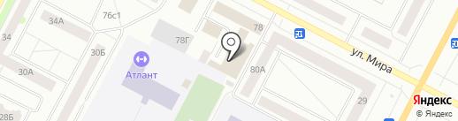 Амур на карте Нижневартовска