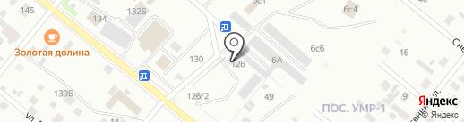 ЮдианСтрой на карте Нижневартовска