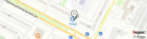 ЮниАрт на карте Нижневартовска