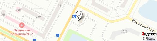 CORAL TRAVEL на карте Нижневартовска