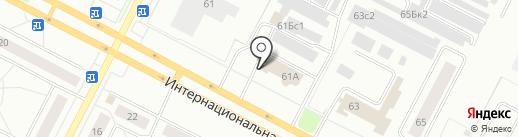 Отдел надзорной деятельности и профилактической работы по г. Нижневартовску на карте Нижневартовска
