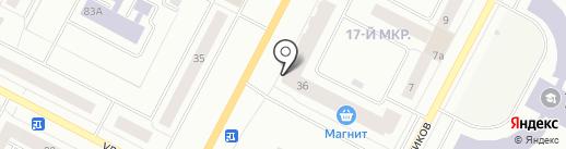 Банкомат, КБ Приобье на карте Нижневартовска