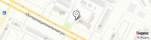 Пожарно-спасательная часть №42 на карте Нижневартовска