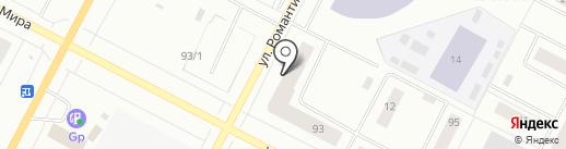 Клиника доктора Асмаевой на карте Нижневартовска