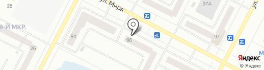 СДЭК на карте Нижневартовска