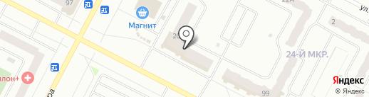 Красное & Белое на карте Нижневартовска