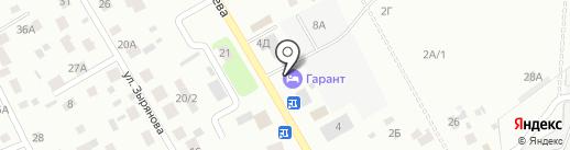 Магазин №258 на карте Нижневартовска