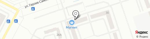 ШарБазар на карте Нижневартовска
