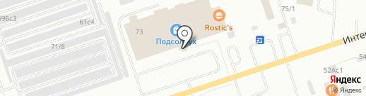 Обжорка на карте Нижневартовска