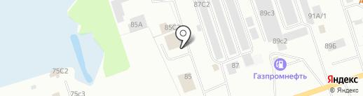 Быстросервис на карте Нижневартовска