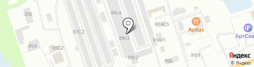 Воротный Сервис на карте Нижневартовска