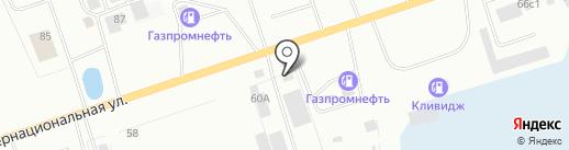 Пит Стоп на карте Нижневартовска