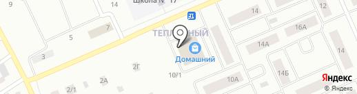 Марафетъ на карте Нижневартовска