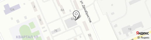 Магазин хозяйственных товаров на карте Нижневартовска