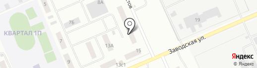 ЖЭУ-17 на карте Нижневартовска
