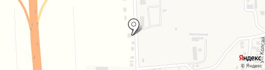 Байынкол на карте Алматы