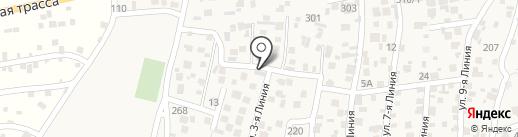 Касиет на карте Кыргаулд