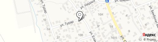 Турар на карте Райымбека