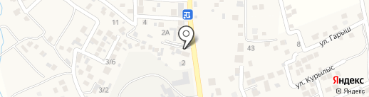 Райымбек на карте Райымбека