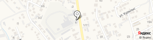 Компания по производству матрасов на карте Райымбека