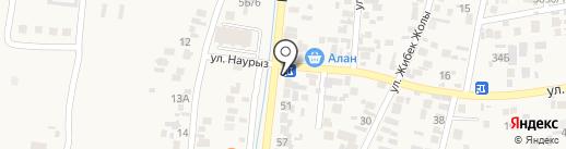 Магазин автомасел на карте Кемертогана