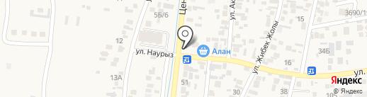 Шиномонтажная мастерская на карте Кемертогана