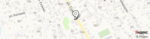 Олжас на карте Райымбека