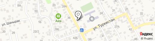 Ерасыл на карте Райымбека