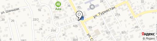 Ержан на карте Райымбека
