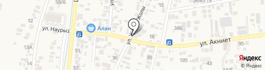 Бека на карте Кемертогана