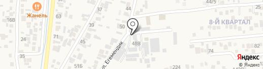 KazTigerTape на карте Кемертогана