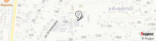 ЛеКос на карте Кемертогана