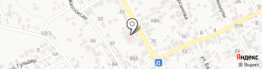 Сельская врачебная амбулатория пос. Райымбек на карте Райымбека