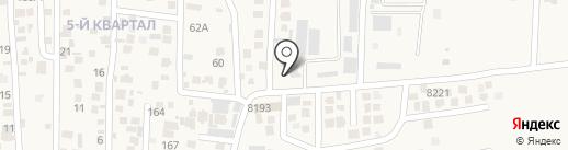 Табысты Ак жол на карте Кемертогана