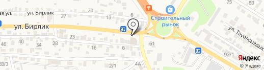 Инар на карте Кыргаулд