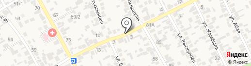 Жастар на карте Райымбека