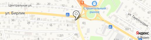 Продуктовый магазин на карте Кыргаулд