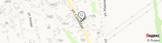Абылай на карте Райымбека