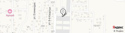 Медеу комерц, ТОО на карте Иргелей