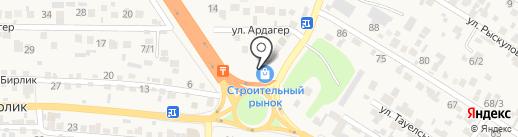 Аяла на карте Райымбека