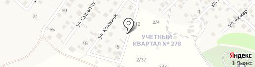 Сункар на карте Кыргаулд