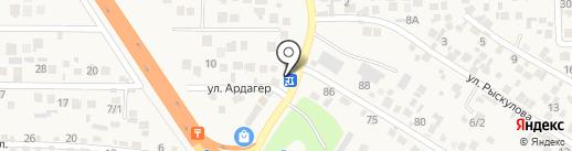 Жаксылык на карте Кыргаулд