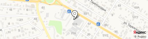 Тау Самал Сервис на карте Кыргаулд