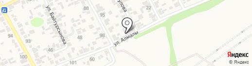 Адия на карте Райымбека