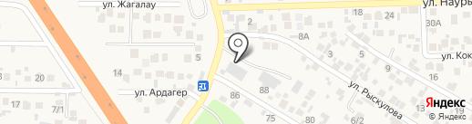 Тирпаркин на карте Кыргаулд