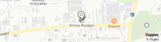 Алтын Жулдыз, ТОО на карте Иргелей