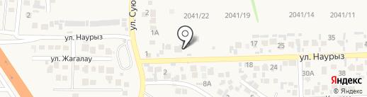 Dinara на карте Кыргаулд
