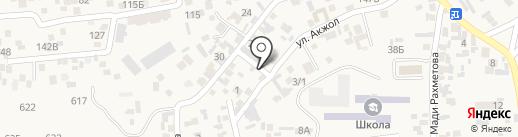 Азамат на карте Иргелей