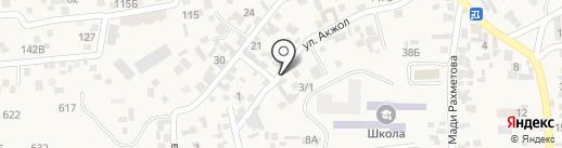 Продуктовый магазин на карте Иргелей